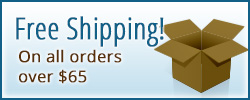 Free Shipping on all orders over $65